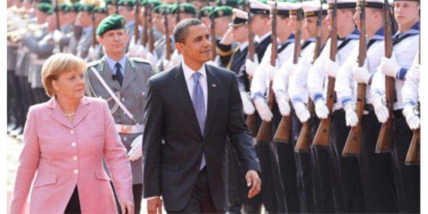 Obama trifft Merkel in Baden-Baden