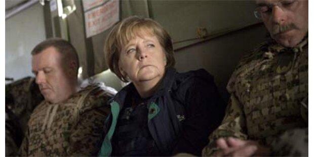 Raketenangriff kurz nach Merkels Abreise