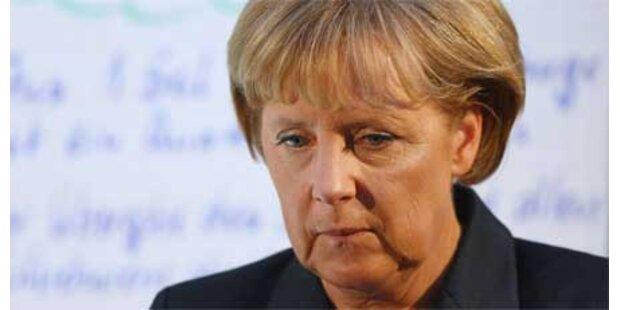 Merkel gesteht Deutschlands Schuld ein