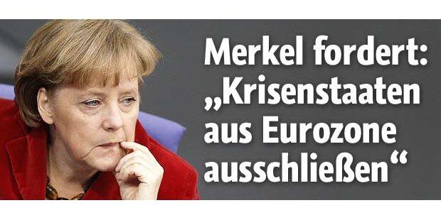 Merkel will die EU-Verträge ändern