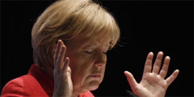 Merkel will 80 Milliarden bis 2014 sparen