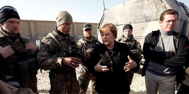 Merkel zu Blitzbesuch in Afghanistan
