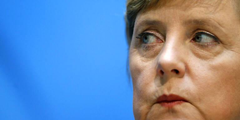 Merkel ruft zum Kampf gegen NPD auf