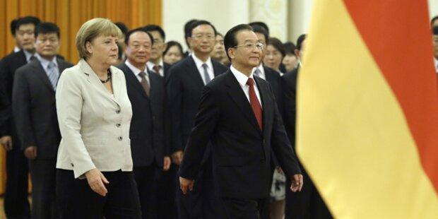 Merkel wirbt um Chinas Vertrauen