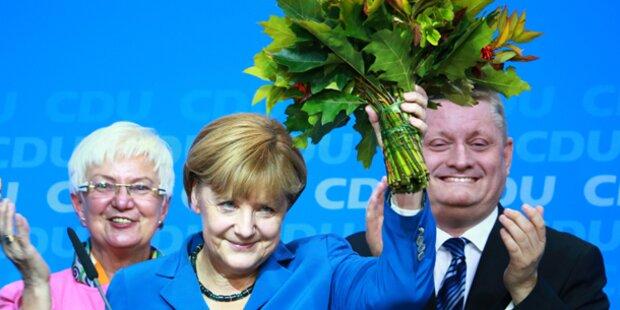 Griechenland stöhnt über Merkel-Sieg
