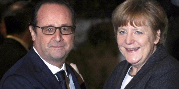 Merkel und Hollande in Kiew und Moskau