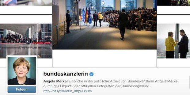 Trolle attackieren Merkel auf Instagram