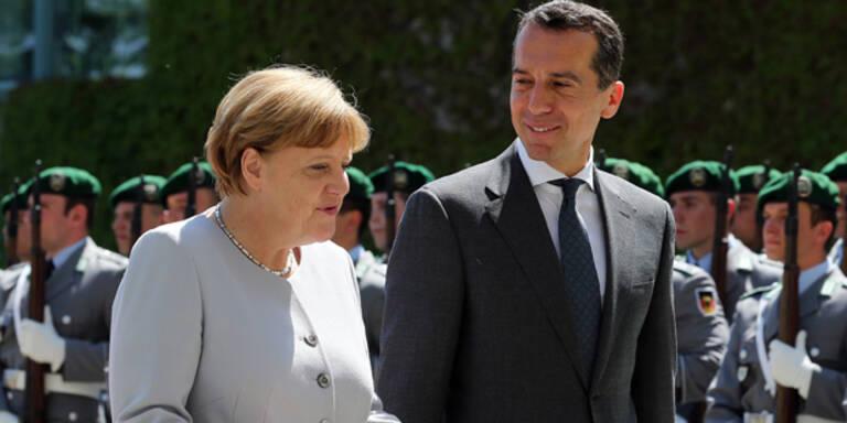 Kern: Charme-Offensive bei Merkel