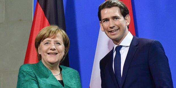 Kurz trifft Merkel: