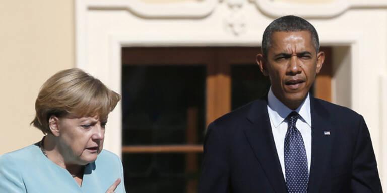 Merkel wütend: Ausspähen