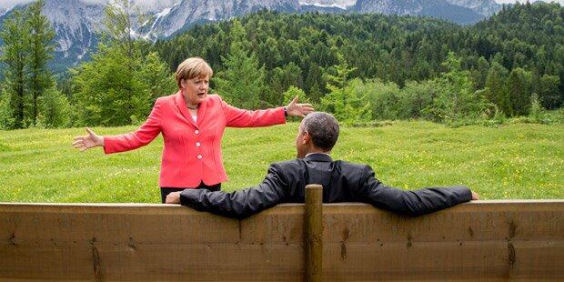So lacht das Internet über dieses G7-Foto