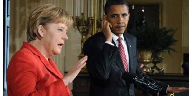 Obama nennt Merkel