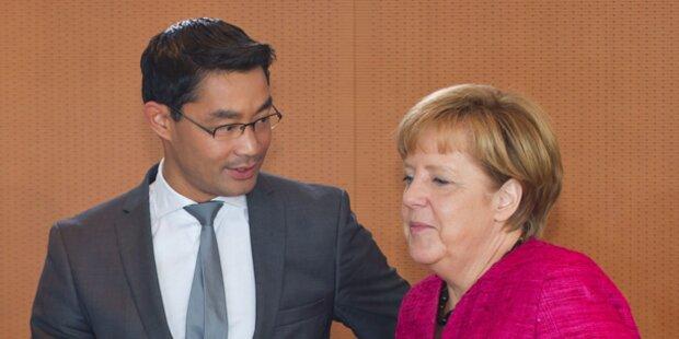 Deutschland: Schwarz-Gelb vor Wahl knapp vorne