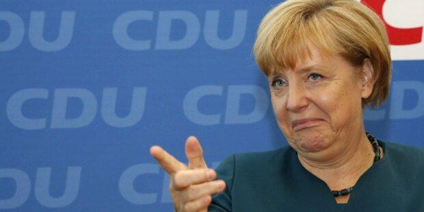 SPD-Wunsch-Zettel an Merkel