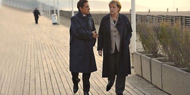 Merkel & Sarkozy allein gegen Rest-Europa