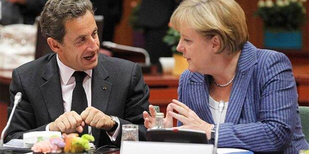 Sarkozy & Merkel: Erklärung zu Griechenland