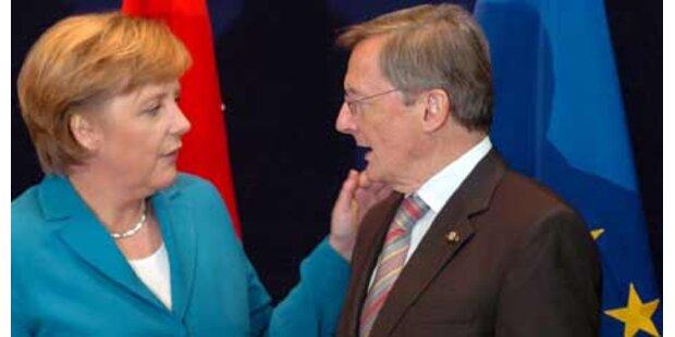 EU-Topjob - Schüssel ist Merkels Favorit