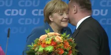 Klarer Wahlsieg für Angela Merkel