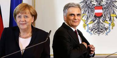 Angela Merkel; Werner Faymann