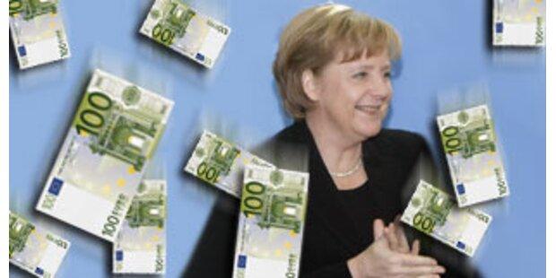 Deutschland erstmals seit 1990 wieder im Plus