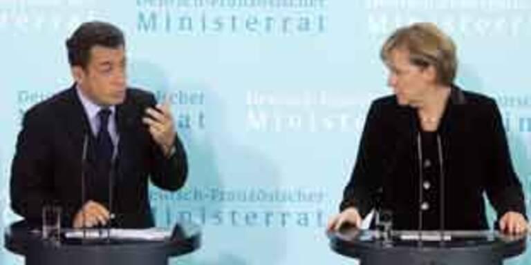 Merkel und Sarkozy ringen um gemeinsame Iran-Linie