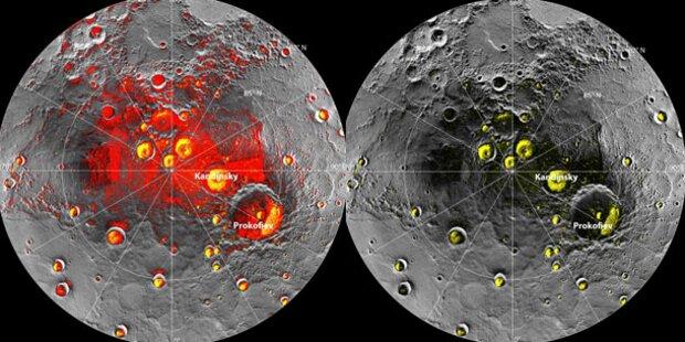 NASA entdeckt Wasser auf dem Merkur
