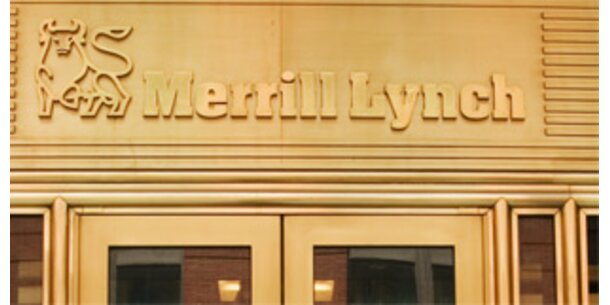 Merill Lynch schreibt 1,2 Mrd. Dollar ab