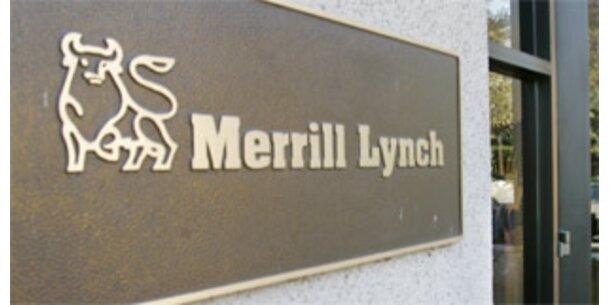 Merrill Lynch mit 4,9 Mrd. Dollar Verlust