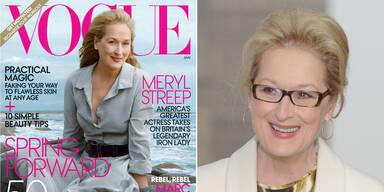 Meryl Streep ziert die neue Vogue mit 62 Jahren