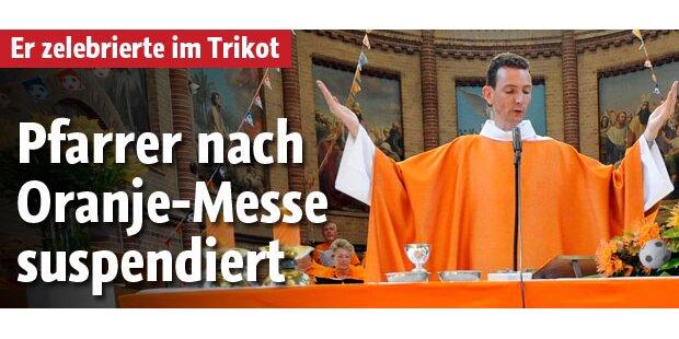 Pfarrer nach Oranje-Messe suspendiert
