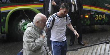 Wut-Messi muss um WM zittern