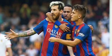 Wut-Messi: Barca legt sich mit FIFA an