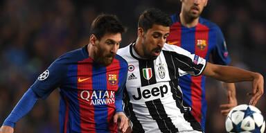 Barca beißt sich an Juve-Beton die Zähne aus