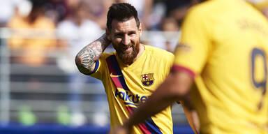 Messi-Show bei Slavia Prag?