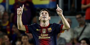 Fulminanter Liga-Start von Messi & Co