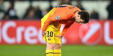 Messi pausiert gegen Saragossa