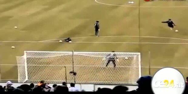 Messi schießt Doppeltor