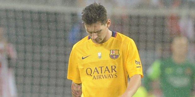 Barcelona droht Liga-Ausschluss