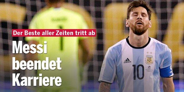 Messi beendet Teamkarriere