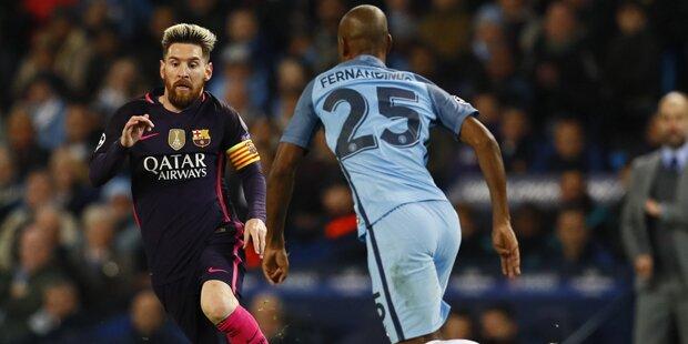 3:1! ManCity zerlegt Barcelona