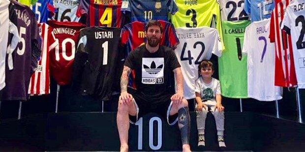 Messi hebt sich Real-Trikots auf