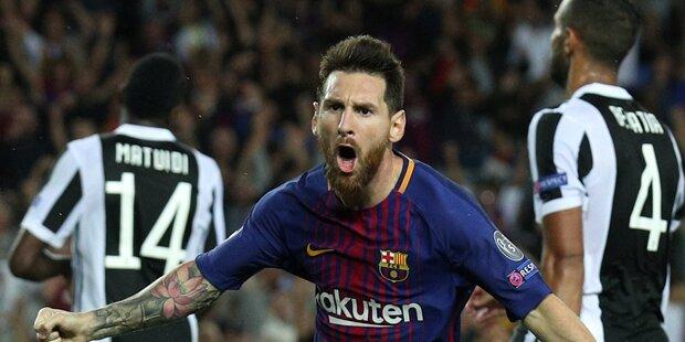 3:0 - Barca schießt Juventus ab
