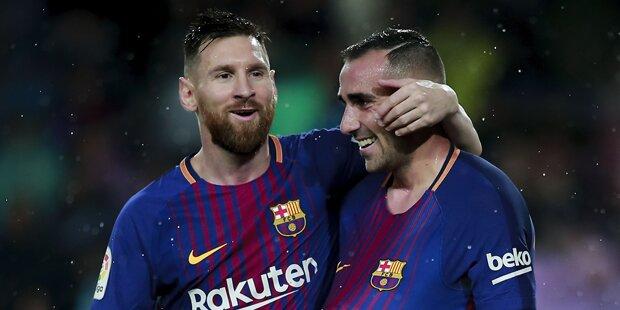 Messi geht bei Jubiläumsspiel leer aus