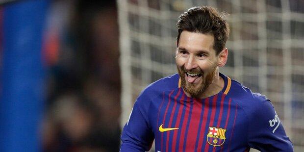 Barca feiert Kantersieg im Cup