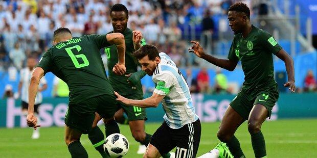 2:1 - Dramatischer Sieg für Messi & Co