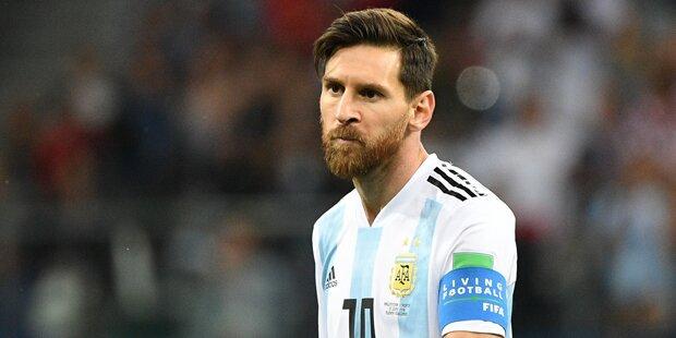 Messi-Sohn witzelt über seinen Vater