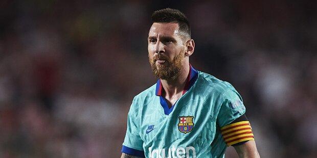 Wutrede: Messi platzt nach Pleite der Kragen