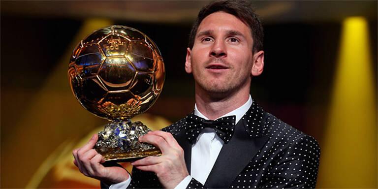 Weltfußballer des Jahres: Wer stoppt Messi?