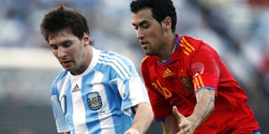 Debakel für Weltmeister Spanien