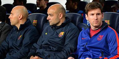 Barcelona bangt um Messi